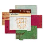 Pink Paislee - Old School Collection - Flip Notes - Die Cut Journaling Pad