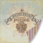 Pink Paislee - Hocus Pocus Collection - 12 x 12 Double Sided Paper - Hocus Pocus
