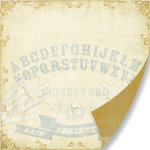 Pink Paislee - Hocus Pocus Collection - 12 x 12 Double Sided Paper - Good Fortune