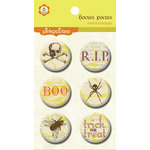 Pink Paislee - Hocus Pocus Collection - Metal Badges