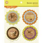 Pink Paislee - Hocus Pocus Collection - Felt Embellishments - DooDads