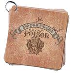 Pink Paislee - Hocus Pocus Collection - 6 x 6 Album - Faux Bois Book