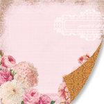 Pink Paislee - Sweetness Collection - 12 x 12 Double Sided Paper - Sweetest Day