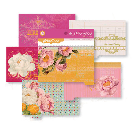 Pink Paislee - Sweetness Collection - Flip Notes - Die Cut Journaling Pad