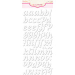 Pink Paislee - Expressions - Foam Stickers - Cushies - Alphabet - Meringue
