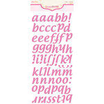 Pink Paislee - Expressions - Foam Stickers - Cushies - Alphabet - Passionfruit