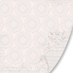 Pink Paislee - House of Three - Parisian Anthology Collection - 12 x 12 Double Sided Paper - Lovely Lace