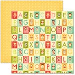 Pink Paislee - Hometown Summer Collection - 12 x 12 Double Sided Paper - Summer Fun