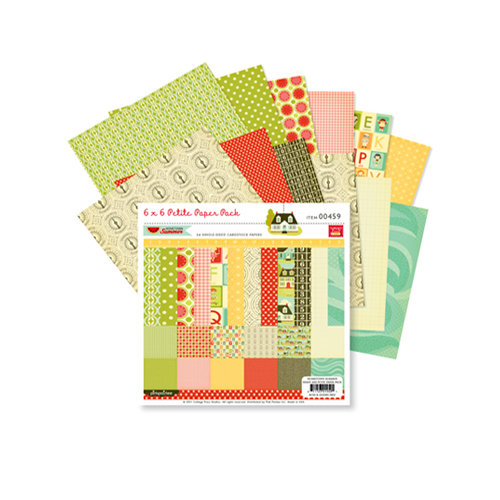 Pink Paislee - Hometown Summer Collection - 6 x 6 Paper Pack, CLEARANCE
