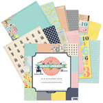 Pink Paislee - House of Three - Daily Junque Collection - 12 x 12 Paper Pack