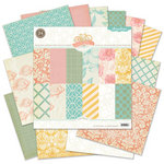 Pink Paislee - Nantucket Collection - 12 x 12 Paper Pack