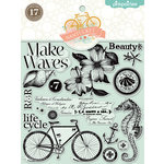 Pink Paislee - Nantucket Collection - Clear Acrylic Stamps