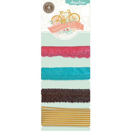 Pink Paislee - Nantucket Collection - Ribbon Trims