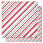 Pink Paislee - Snow Day Collection - Christmas - 12 x 12 Double Sided Paper - Fireside