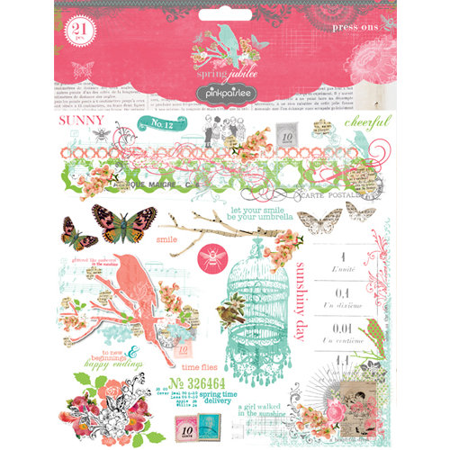 Pink Paislee - Spring Jubilee Collection - Press Ons