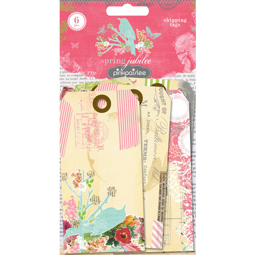 Pink Paislee - Spring Jubilee Collection - Shipping Tags