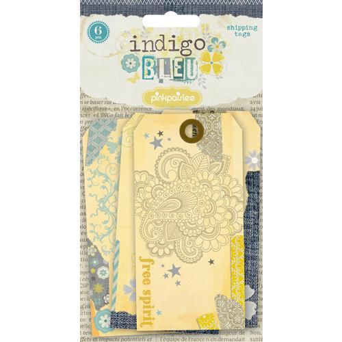 Pink Paislee - Indigo Bleu Collection - Shipping Tags