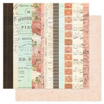 Pink Paislee - London Market Collection - 12 x 12 Double Sided Paper - Curiosities