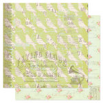 Pink Paislee - London Market Collection - 12 x 12 Double Sided Paper - Mayfair