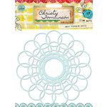 Pink Paislee - She Art Collection - Mask - Vintage Doily