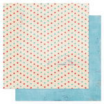 Pink Paislee - Declaration Collection - 12 x 12 Double Sided Paper - Firecracker