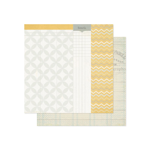 Pink Paislee - Portfolio Collection - 12 x 12 Double Sided Paper - Remarkable