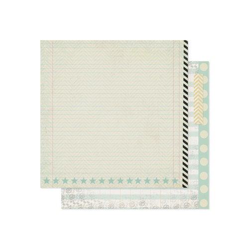 Pink Paislee - Portfolio Collection - 12 x 12 Double Sided Paper - Incredible