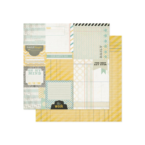 Pink Paislee - Portfolio Collection - 12 x 12 Double Sided Paper - Outstanding