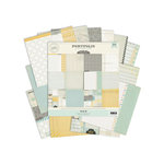 Pink Paislee - Portfolio Collection - 12 x 12 Paper Pack