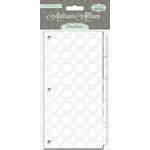 Pink Paislee - Artisan Collection - 4 x 8 Resist Album Tab Dividers