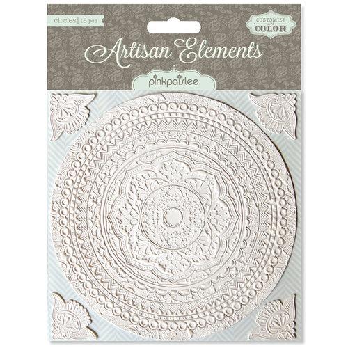 Pink Paislee - Artisan Collection - Resist Elements - Circles