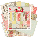Pink Paislee - City Sidewalks Collection - Christmas - 8 x 8 Paper Pack