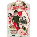 Pink Paislee - City Sidewalks Collection - Christmas - Ephemera Pack