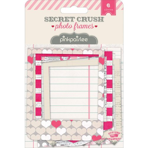 Pink Paislee - Secret Crush Collection - Photo Frames