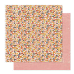 Pink Paislee - Cottage Farms Collection - 12 x 12 Double Sided Paper - Bushel
