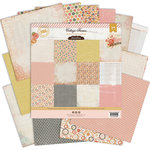 Pink Paislee - Cottage Farms Collection - 12 x 12 Collection Pack
