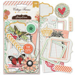Pink Paislee - Cottage Farms Collection - Ephemera Pack - Paper Goods