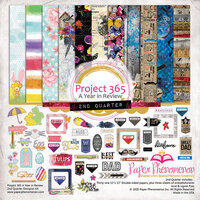 Paper Phenomenon - Project 365 Quarter 2 - 12 x 12 Collection Kit