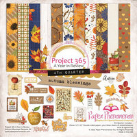 Paper Phenomenon - Autumn Blessings Collection - 12 x 12 Collection Kit