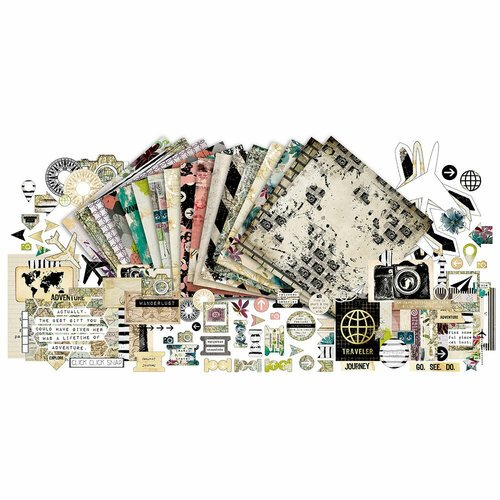 Paper Phenomenon - Flight 2715 Collection - 12 x 12 Collection Kit