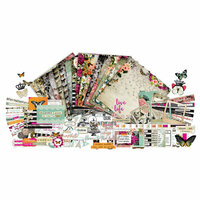Paper Phenomenon - Flutter and Bloom Collection - 12 x 12 Collection Kit