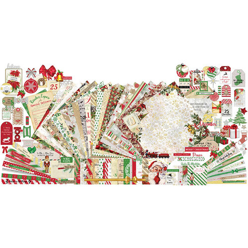 Paper Phenomenon - Christmas - Merry and Bright Collection - 12 x 12 Collection Kit
