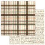 Photo Play Paper - Autumn Day Collection - 12 x 12 Double Sided Paper - Plaid