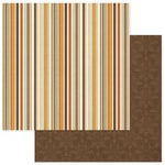 Photo Play Paper - Autumn Day Collection - 12 x 12 Double Sided Paper - Multi Stripe