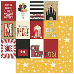 Color Play - A Day At The Park Collection - 12 x 12 Double Sided Paper - 3 x 4 Cards