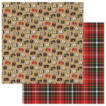 Color Play - A Day At The Park Collection - 12 x 12 Double Sided Paper - Cameras