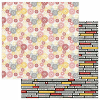 Color Play - A Day At The Park Collection - 12 x 12 Double Sided Paper - Fireworks