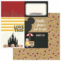 Color Play - A Day At The Park Collection - 12 x 12 Double Sided Paper - 4 x 6 Cards
