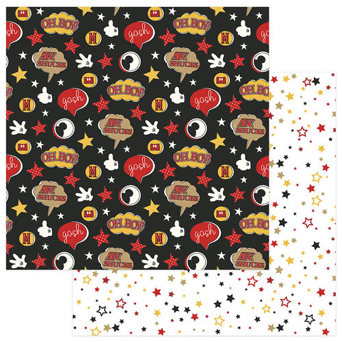 Color Play - A Day At The Park Collection - 12 x 12 Double Sided Paper - Oh Boy