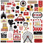 Photo Play Paper - A Day At The Park Collection - 12 x 12 Cardstock Stickers - Elements